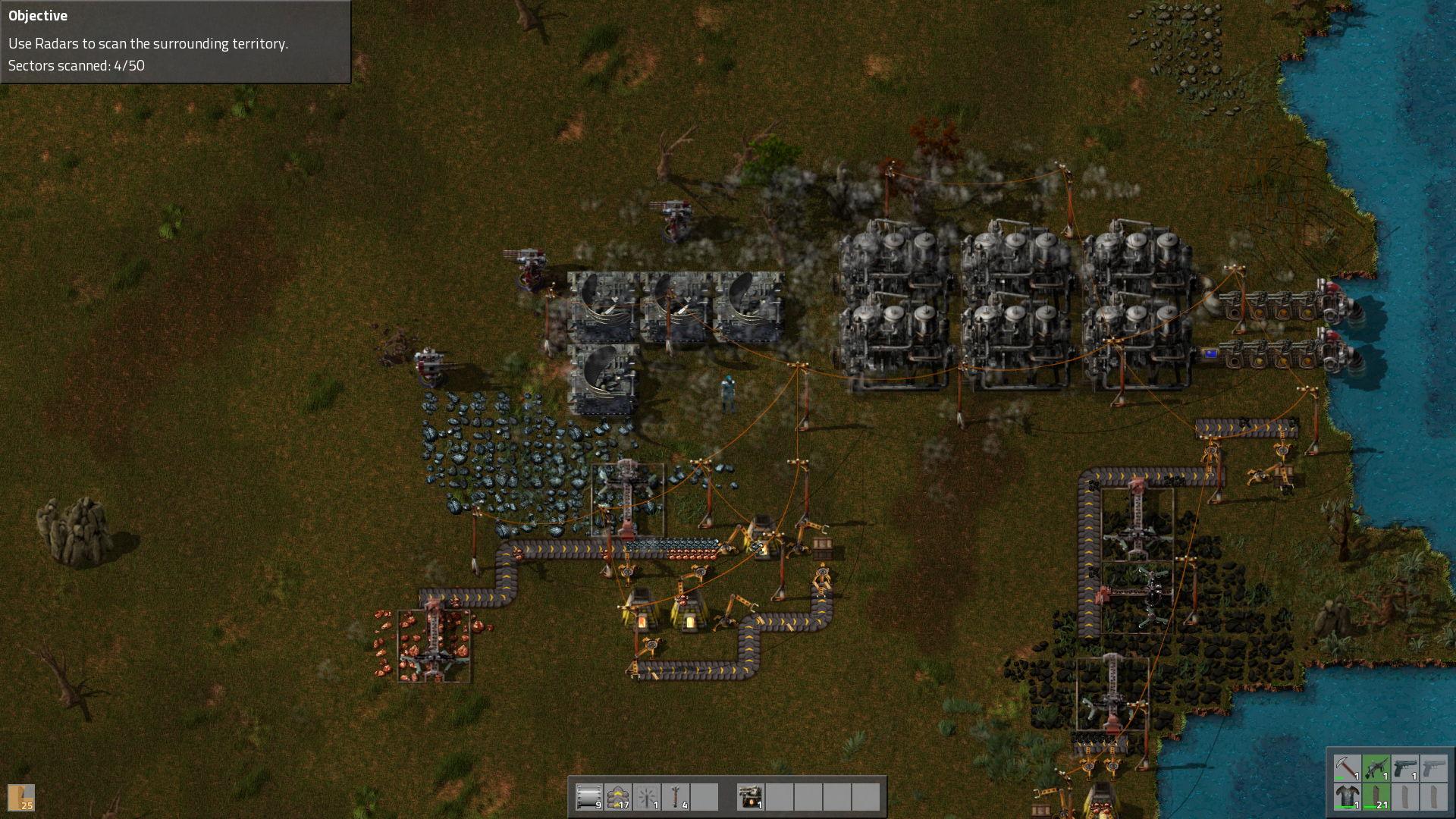 Indie Not *Quite* Early Access Land: Factorio - Ninja Blues